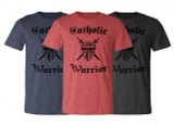 The Catholic Warrior Defender of the Faith T-Shirt