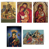 Icon Christmas Cards Set (25 Cards)