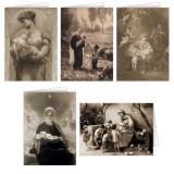 Sepia Images Christmas Cards Set (25 Cards)