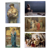 Madonna and Child Christmas Cards Set (25 Cards)