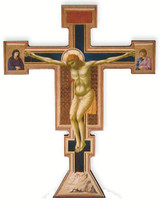Giotto Crucifix Wall Plaque Cross