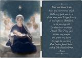 Star of Bethlehem Diptych with St. Andrew Novena Prayer