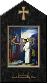Emmerich Stations of the Cross Plaques (Set of 14)