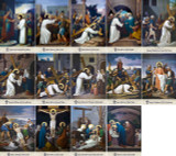 Emmerich Stations of the Cross Indoor Outdoor Aluminum Prints (Set of 14)