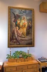 Joseph, Patron of the Church: Church-Sized Framed Canvas