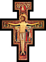 San Damiano Large Wall Plaque Cross