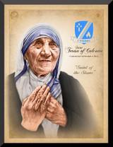St. Teresa of Calcutta Commemorative Wall Plaque