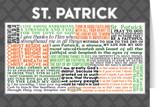 Saint Patrick Quote Card