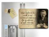 G.K. Chesterton Self-Criticism Quote Magnet