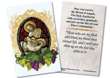 Christ and Child First Communion Holy Card