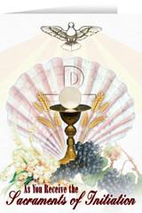 Eucharist RCIA Greeting Card