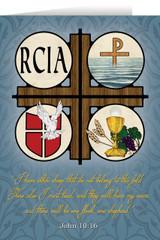 RCIA Symbols Greeting Card