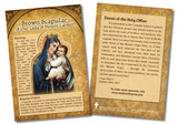 Brown Scapular of Our Lady of Mount Carmel Faith Explained Card - Pack of 50