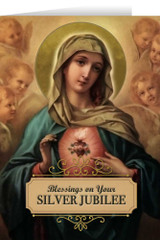 Immaculate Heart Silver Jubilee Greeting Cards