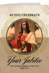 Last Supper Jubilee Greeting Cards