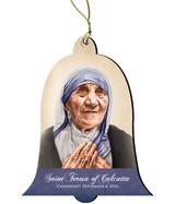 St. Teresa of Calcutta Commemorative Wood Ornament