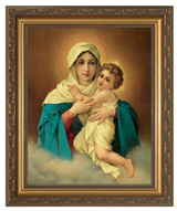 Schoenstatt Madonna Church-Sized Framed Canvas