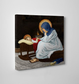 Divine Conversation Gallery Wrapped Canvas