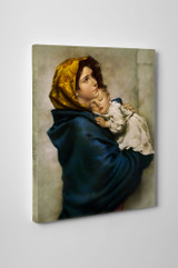 Madonna of the Streets Gallery Wrapped Canvas