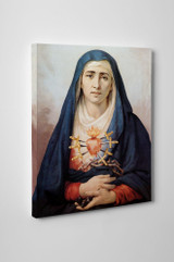 Sorrowful Mother Gallery Wrapped Canvas