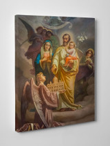 Joseph, Patron of the Church Gallery Wrapped Canvas