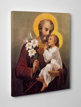 St. Joseph (Younger) Gallery Wrapped Canvas