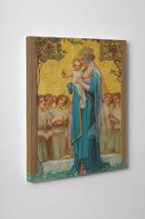 Madonna and Child by Enric M. Vidal Gallery Wrapped Canvas