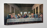 Last Supper by Da Vinci Restored Gallery Wrapped Canvas