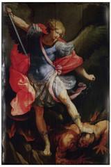 St. Michael the Archangel Rustic Wood Plaque