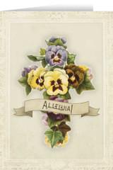 Alleluia Easter Season Greeting Card