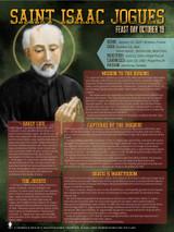 St. Isaac Jogues Saints Explained Poster