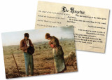 The Angelus by Millet Holy Card