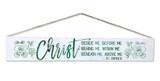 """""""Christ"""" St. Patrick Quote Plaque"""