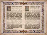 Latin-English Nicene Creed Poster