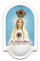 100 Year Anniversary Fatima Holy Water Font