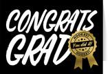 Congrats Grad Graduation Greeting Card
