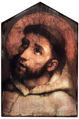 St. Francis of Assisi Rustic Wood Plaque