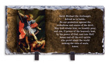 St. Michael the Archangel Prayer Horizontal Slate Tile