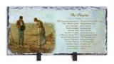 The Angelus by Millet Prayer Horizontal Slate Tile