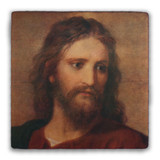 Christ at 33 by Hoffman Square Tumbled Stone Tile