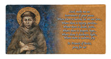 St. Francis by Cimabue Prayer Hi-Gloss Mini Tile