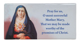Sorrowful Mother Prayer Hi-Gloss Mini Tile