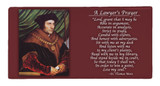 St. Thomas More Prayer Hi-Gloss Mini Tile