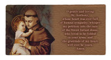 St. Anthony with Jesus Prayer Hi-Gloss Mini Tile