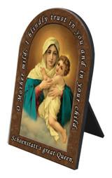 Schoenstatt Madonna Prayer Desk Plaque