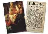 Sts. Martha and Mary Holy Card