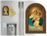 Schoenstatt Madonna Prayer Arched Magnet
