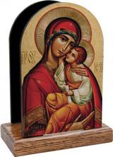 Byzantine Madonna Table Organizer (Vertical)