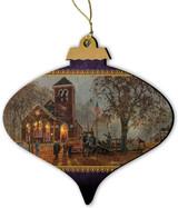 Old-Fashion Hayride Ornament