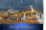 Nutcracker Village: Merry Christmas Cards